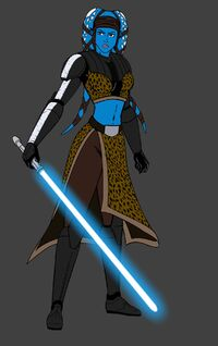 General Aayla Secura WIP by JosephB222