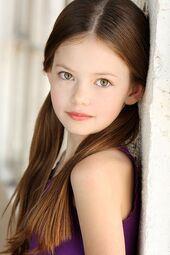 Lily pigtails-Mackenzie Foy