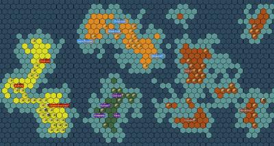 Politcal map