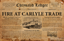 Chrysalid Ledger 1