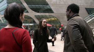 S3 episode 14 - Emori, Jaha & Alie