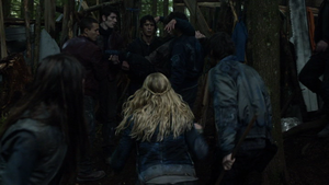 His Sister's Keeper 095 (Bellamy, Clarke, and Finn)