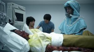 Human Trials 055 (Jasper, Monty, Dr. Tsing, and Maya)