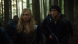 We Are Grounders (Part 2) 009 (Bellamy and Clarke)