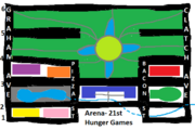 21st Hunger Games Arena