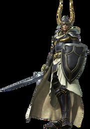 Warrior cg render