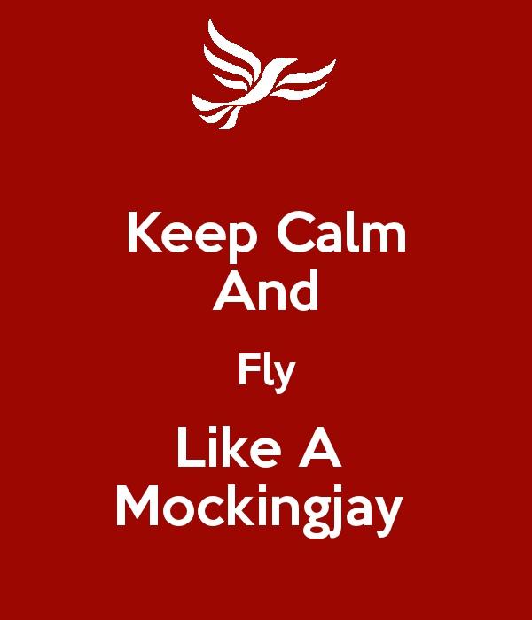 Keep calm mockinjay