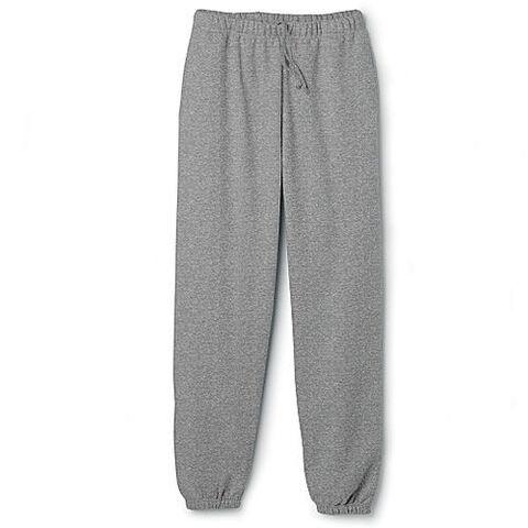 File:Elastic Cuff Sweat pants Gray Heather .jpg