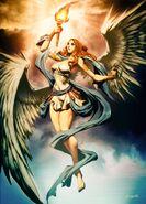 Nike goddess of victory by GENZOMAN