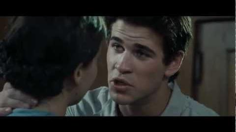 The Hunger Games New Clip! Gale says Goodbye to Katniss (