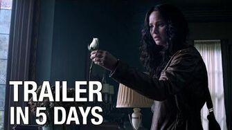 "The Hunger Games Mockingjay Trailer Countdown – ""5 Days"""