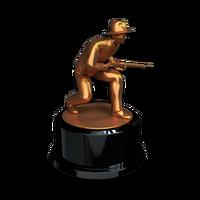 Sneakathon man bronze
