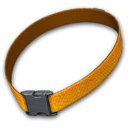 Dog collar blazing orange