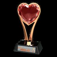 Valentine competition 2016 bronze