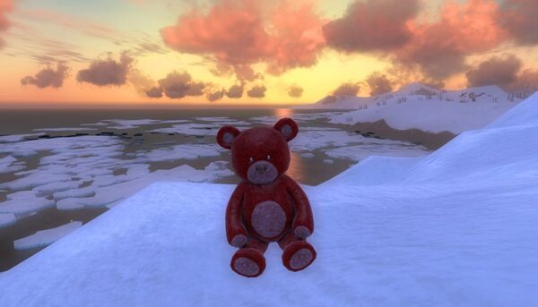 Collectable valentines teddy red