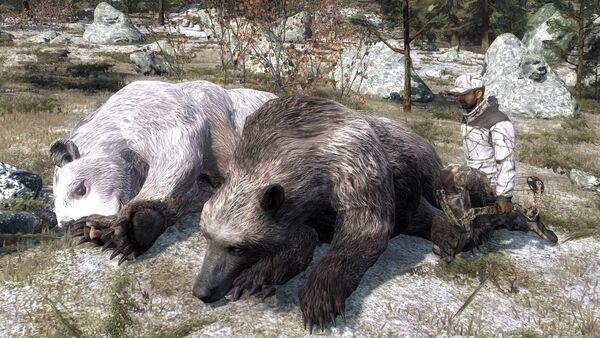 Rickc two rare brown bear