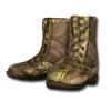 Boots arid camo