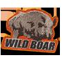 Wild boar badge