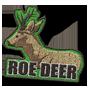 Roe deer badge