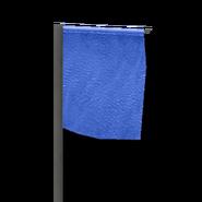 Marker flag blue