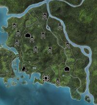 Settler Creeks EW Map