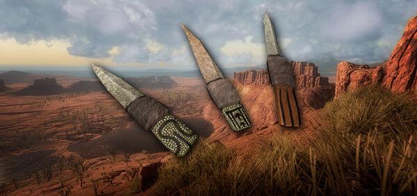 Old aboriginal knives