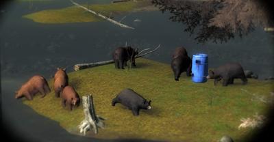 Bear baiting 1