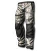 Basic pants camo winter forest 256