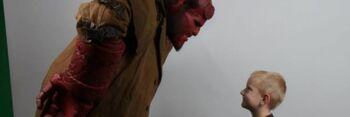 Hellboy Make-a-Wish