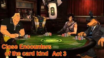 """Poker Night Story Time - """"Close Encounter of the Card Kind"""""""