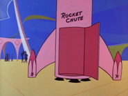 Fun Pad Rocket Chute
