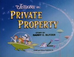 Private property title