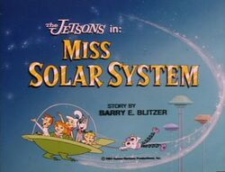 Miss solar system title