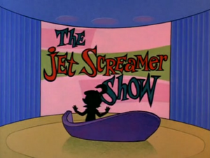 The Jet Screamer Show title card