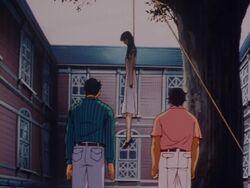 Harumi Kiryu's Dead Body (Anime)