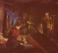 Joel and ellie finding something