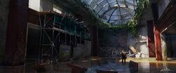 The Last of Us Concept Art Hotel Lobby EZ-01