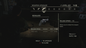Weapon upgrade