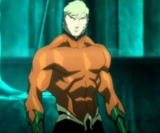 Aquaman Justice League Throne of atlantis