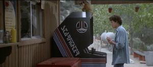 Starfighter arcade machine
