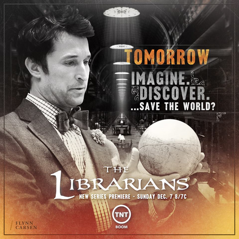 File:The Librarians tomorrow premiere poster.png