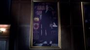 Edward Wilde portrait in the Library