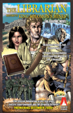 The Librarian Return to King Solomon's Mines graphic novel
