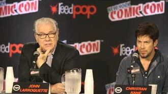 NYCC John Larroquette - My Character The Librarians TNT