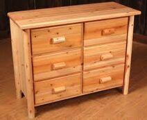 Cabin dresser