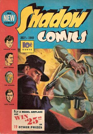 Shadow Comics Vol 1 5