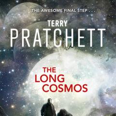 Original cover of <i>The Long Cosmos</i>