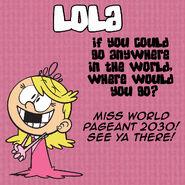 Lola Q&A Travel