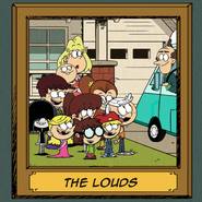 Loud Family portrait