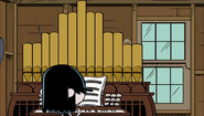 S1E17A Geo lands in Lucy's pipe organ